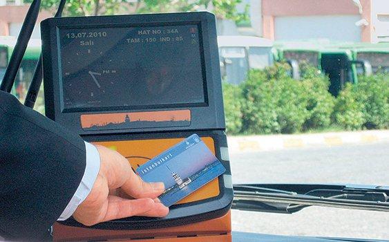 استانبول کارت، کارتی جهت پرداخت هزینه مترو، اتوبوس و ... در استانبول