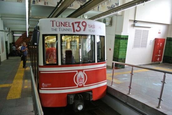 فونیکلار T کاراکوی تونل