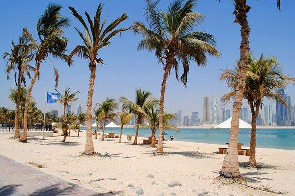 ساحل الممزار دبی از معروفترین سواحل دبی