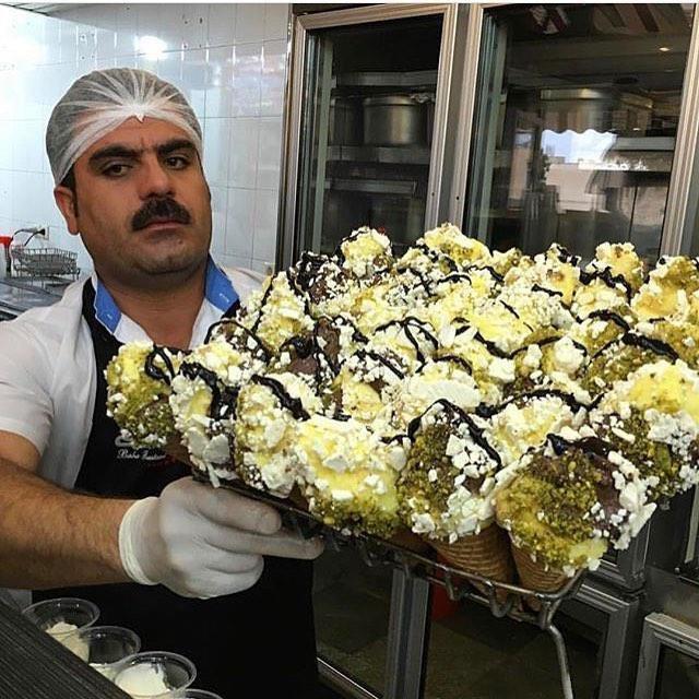 بهترین بستنی در شیراز
