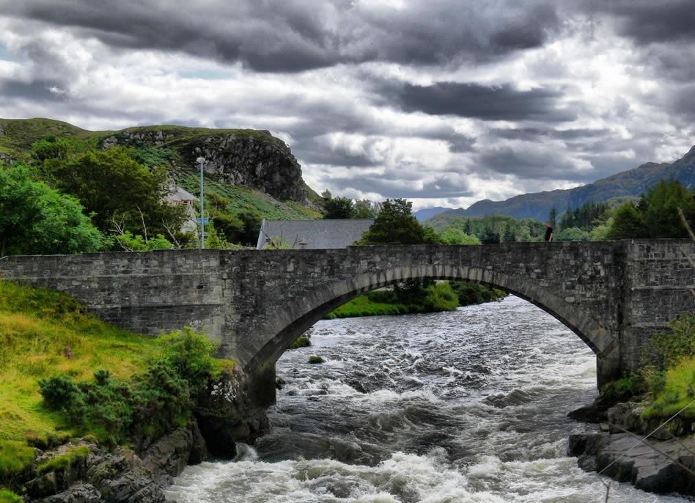 پل شیطان در اسکاتلند