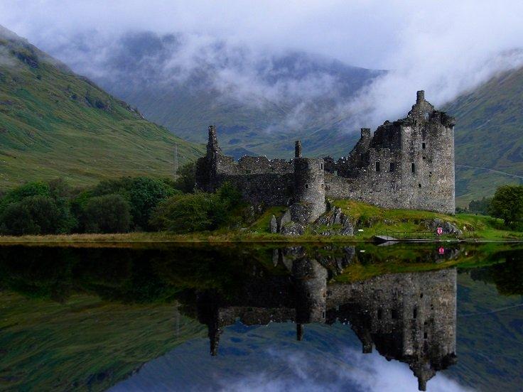 قلعه های زیبای کشور اسکاتلند