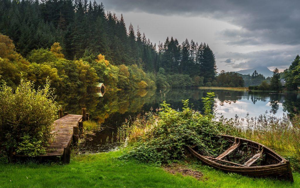 دریاچه های زیباترین کشور جهان