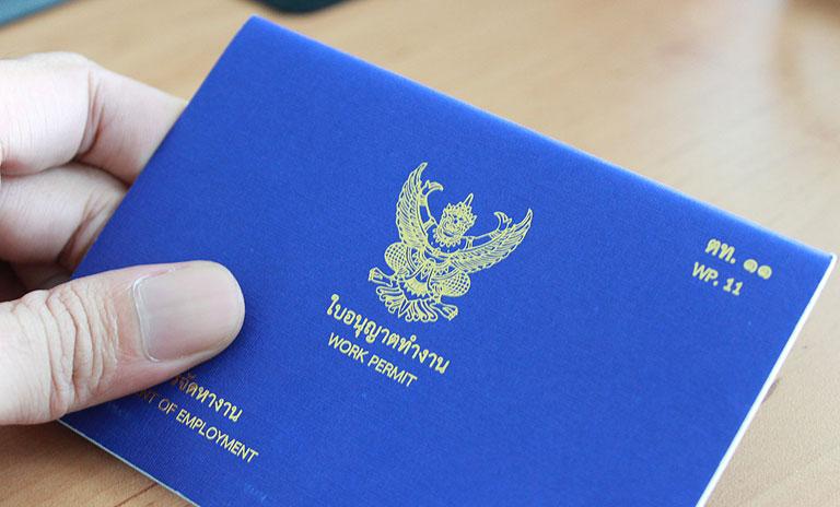 درخواست اجازه کار در تایلند