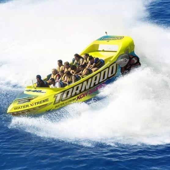 قایق پرسرعت در سامویی
