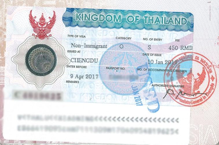 تمدید ویزای کاری تایلند