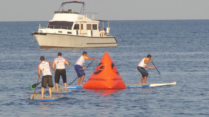 پدل بورینگ ورزش های آبی سامویی