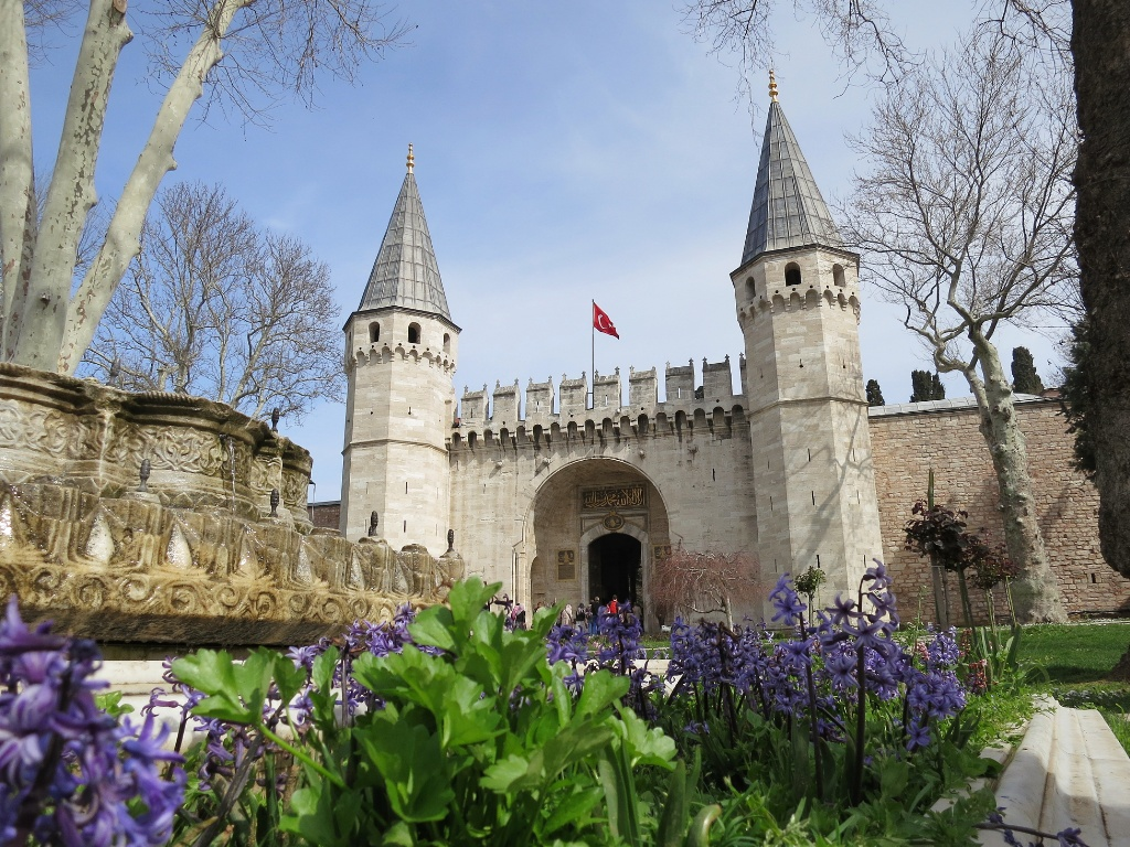 کاخ موزه توپکاپی , ترکیه   آفتاب تراول
