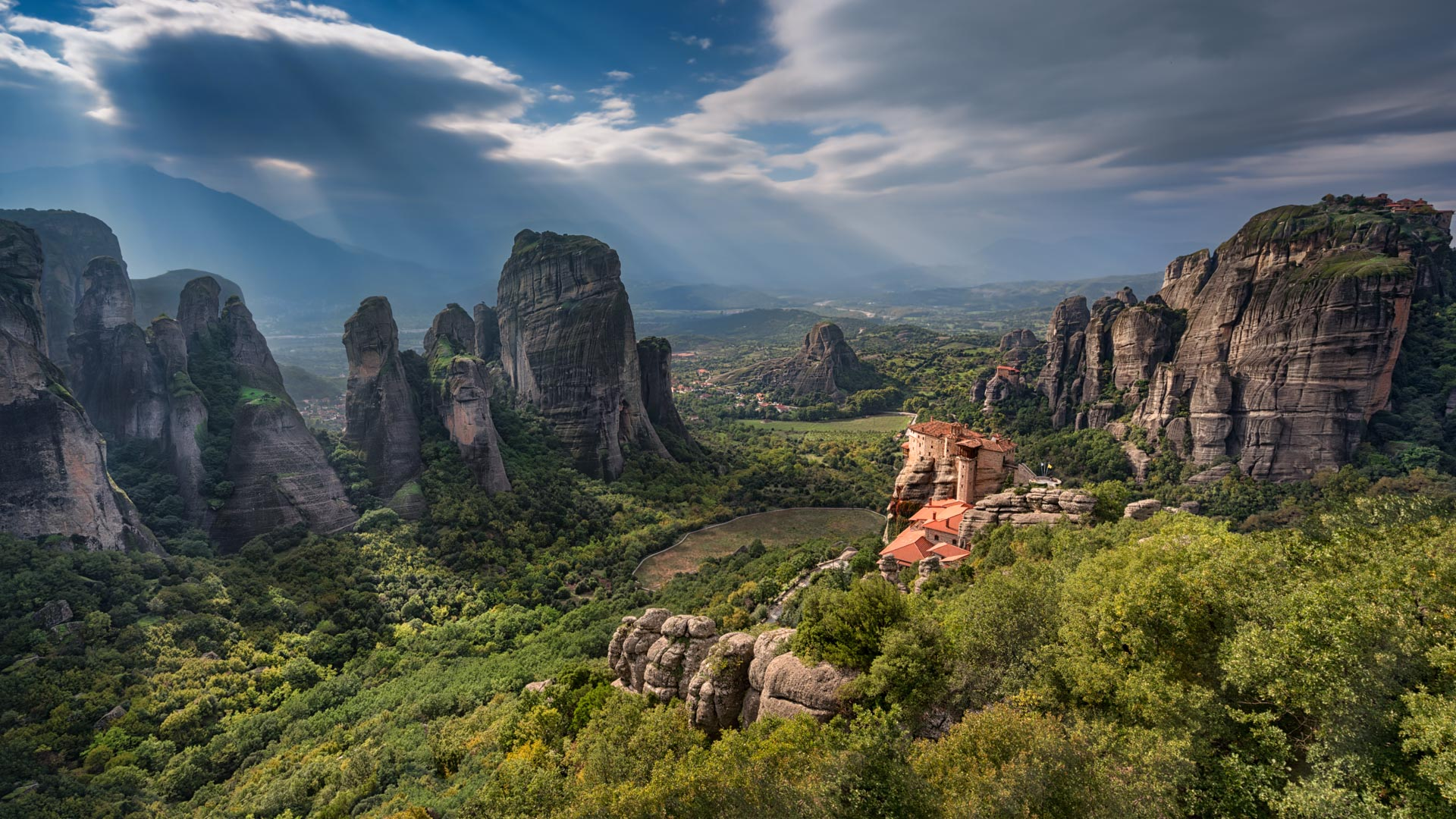 Varlaam Monastery, Meteora, Greece  № 10781 без смс