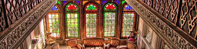 ۷ صنعت باغ نارنجستان قوام شیراز