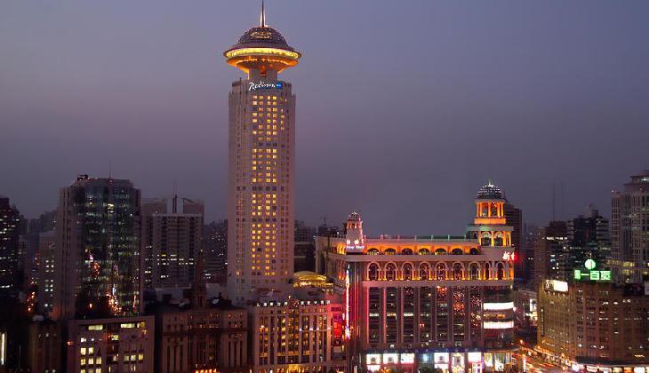 هتل رادیسون بلو نیو ورد شانگهای