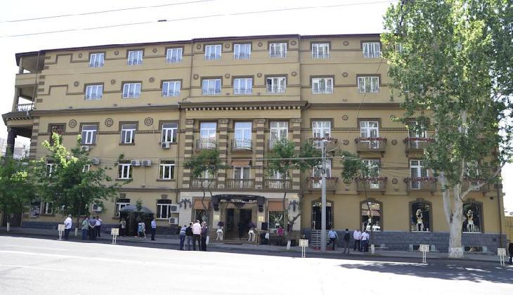 for 14 floor hotel yerevan
