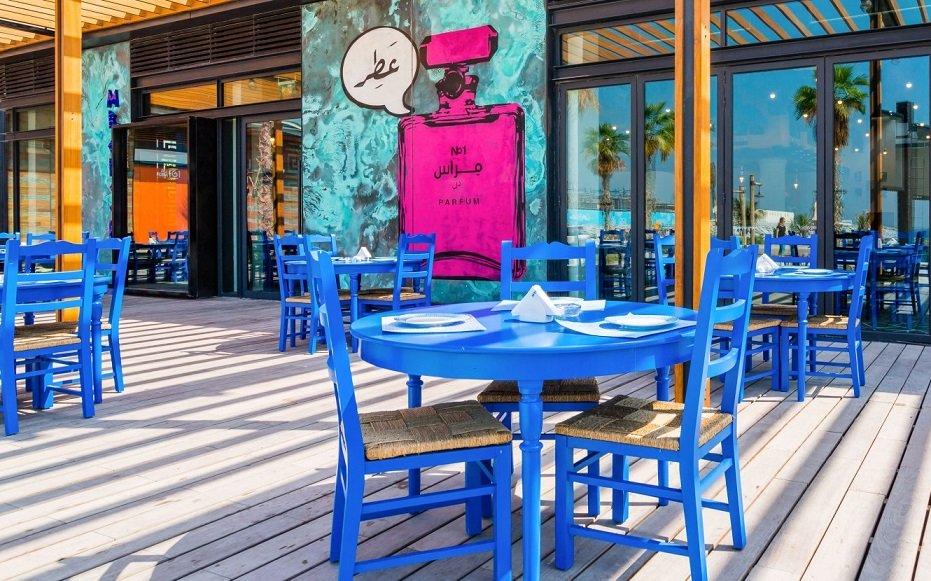 رستوران ساحل لامر دبی